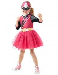 Disfraz clásico Powe Rangers Ninja Steel™ rosa niña