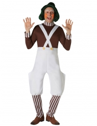 Peluca Oompa Loompa™ Charlie y la fábrica de chocolates™ adulto