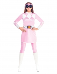 Disfraz mono rosa Power Rangers Mighty Morphin™ mujer
