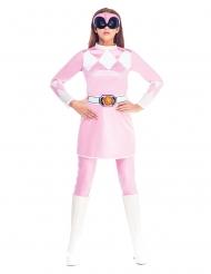 Disfraz mono rosa Power Rangers Mighty Morphin™ mujer