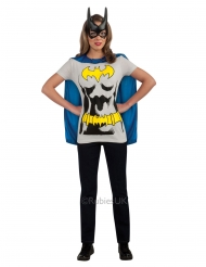 Camiseta y máscara Batgirl™ mujer