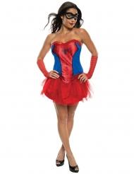 Disfraz vestido tutú Spidergirl™ mujer