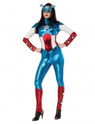 Disfraz traje Miss América™ mujer