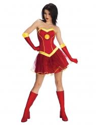 Disfraz vestido tutú Iron Man girl™ mujer