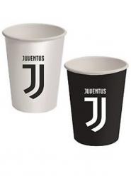 8 vasos de cartón Juventus™ 266 ml