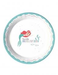 8 Platos de cartón premium Ariel™ 23  cm
