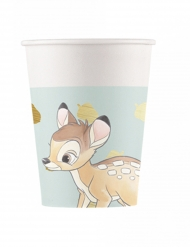 8 Vasos de cartón Bambi™ 260 ml