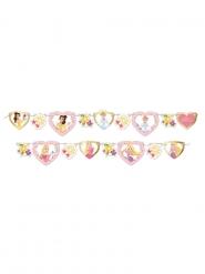 Guirlanda de cartón premium Princesas Disney™ 82 x 15 cm