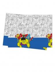 Mantel de plástico premium Los Vengadores™ pop comic 120 x 180 cm