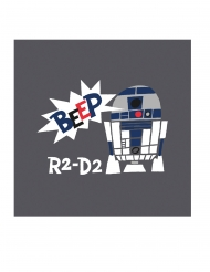 20 Servilletas de papel premium Star Wars™ 33 x 33 cm
