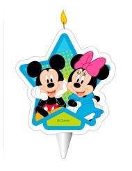 Vela de cumpleaños Mickey y Minnie™ 7.5 cm