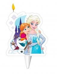 Vela de cumpleaños Elsa, Anna, y Olaf™ 8 cm