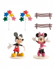 Kit de decoración torta Mickey y Minnie™
