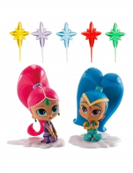 Kit de decoración Shimmer and Shine™ 8 cm