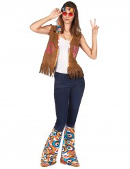 Kit accesorios hippie retro adulto