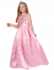 Disfraz princesa rosa para niña