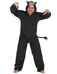 Disfraz pantera negra mono hombre