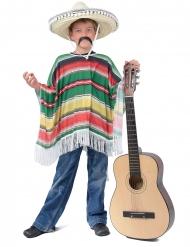 Poncho mexicano niño