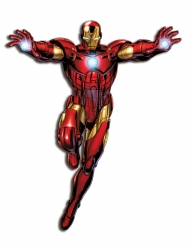 Decoración mural articulada Iron Man™ 1 m