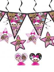 Kit decoración cumpleaños Lol Surprise™ 7 unidades