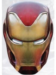 Máscara de cartón Iron Man Avengers Infinity War™ adulto
