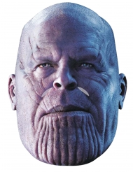 Máscara de cartón Thanos Avengers Infinity War™ adulto