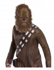 Máscara con piel Chewbacca Star Wars™ adulto