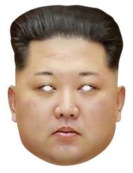 Máscara de cartón Kim Jong Un