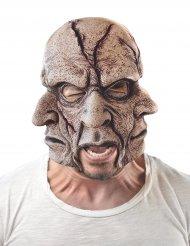 Máscara látex hombre multirostros adulto