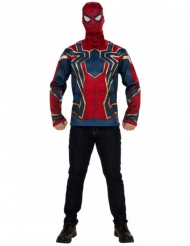 Camiseta y máscara Iron Spider Infinity War™ adulto