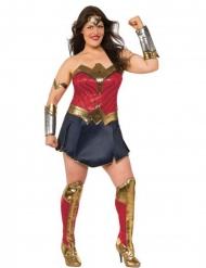 Disfraz deluxe Mujer Maravilla Liga de la Justicia™ talla grande mujer