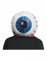 Casco de lujo globo ocular Suicide Squad™ adulto
