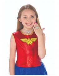 Kit aros, collar y anillo Mujer Maravilla™