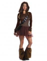 Disfraz clásico Chewbacca Star Wars™ mujer