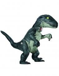 Disfraz hinchable sonoro velocirráptor Jurassic World Fallen Kingdom™ adulto