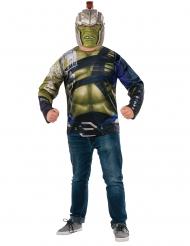 Disfraz de Hulk Thor Ragnarok™ camiseta y máscara adulto