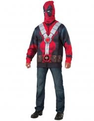 Chaqueta con capucha Deadpool™ adulto