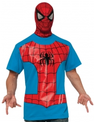 Camiseta con pasamontañas Spiderman™ adulto