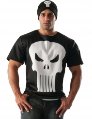 Camiseta y gorro Punisher™ adulto
