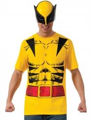 Camiseta con máscara Wolverine™ adulto