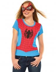 Camiseta y máscara Spider-Girl™ mujer