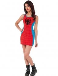 Disfraz vestido rojo y azul Spider-Girl™ mujer