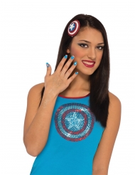 Kit maquillaje Capitán América™ mujer