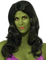 Peluca Hulk™ mujer