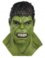 Máscara completa látex Hulk™ adulto
