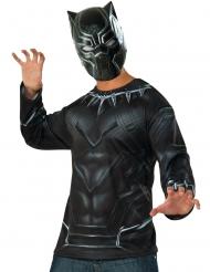 Camiseta y máscara Black Panther Captain America Civil War™ adulto