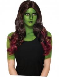 Peluca Gamora Los Guardianes de la Galaxia 2™ adulto