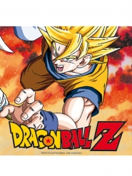 20 Servilletas de papel Dragon Ball Z™ 33 X 33 cm