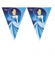 Guirlanda banderines de plástico Cenicienta™ 3.6 m