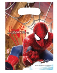 6 Bolsas de fiesta The Amazing Spiderman™ 17 x 23 cm